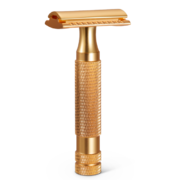 Dick Johnson Auguise Gold DE Safety Razor Closed Comb