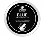 Epsilon Blue Mediterranean Shaving Soap 80g