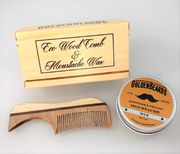 Golden Beards Moustache Wax and Comb