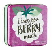 I love You Berry Much Soap 100 g