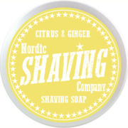 NSC Shaving Soap, Citrus&Ginger 80g