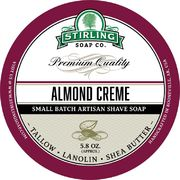 Stirling Almond Creme Shaving Soap 170 ml
