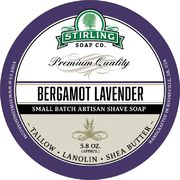 Stirling Bergamot Lavender Shaving Soap 170 ml