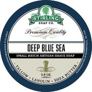 Stirling Deep Blue Sea Shaving Soap 170 ml