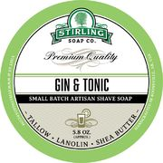 Stirling Gin & Tonic Shaving Soap 170 ml