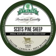 Stirling Scots Pine Sheep Shaving Soap 170 ml
