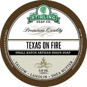Stirling Texas on Fire Shaving Soap 170 ml