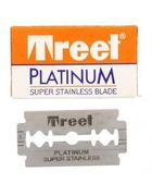 Copy of Treet Platinum Super Stainless DE Blades - 1 blade