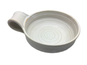 Ulho Ceramic Shaving Bowl White