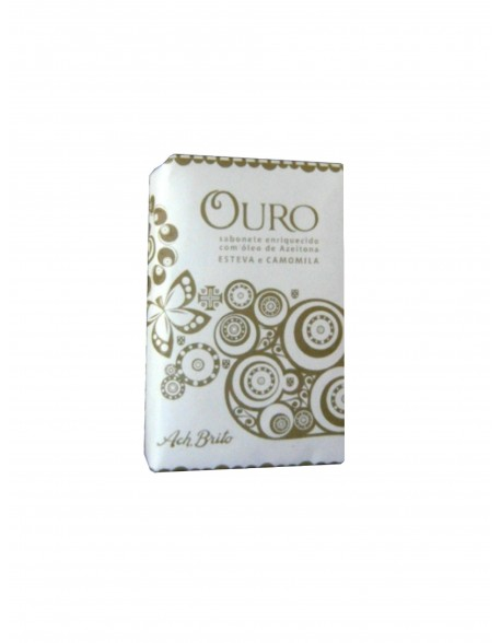 Ach Brito Bath Soap Símbolos Lusitanos Ouro Collection 75g