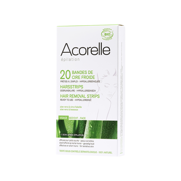 Acorelle Hair Removal Strips for Face 20