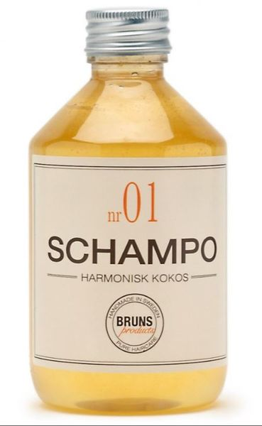 BRUNS Nr01 Harmonius Coconut Shampoo 330 ml