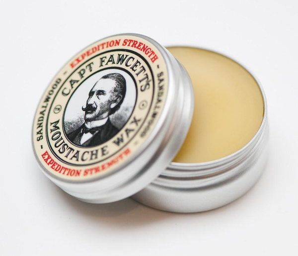 Captain Fawcett Moustache Wax Expedition Strength 15ml