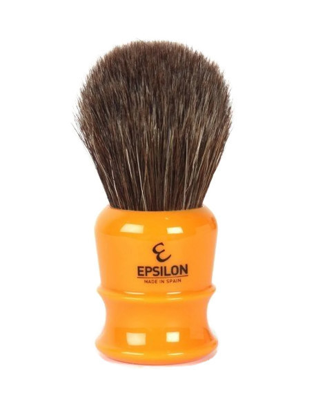 Epsilon Brown Horse Hair Shaving Brush Butterscotch 26mm