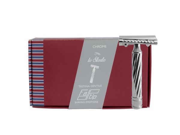 Fatip Lo Storto Slant DE Safety Razor Closed Comb