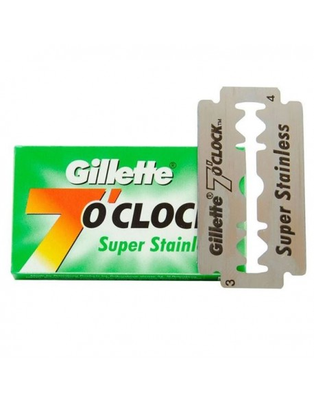 Gillette 7 o'clock Super Stainless DE Blades - 1 blade