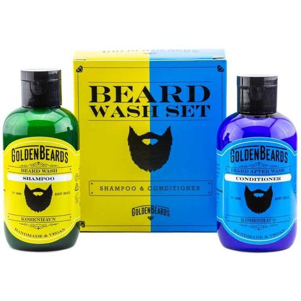 Golden Beards Beard Shampoo and Conditioner 2 x 100 ml