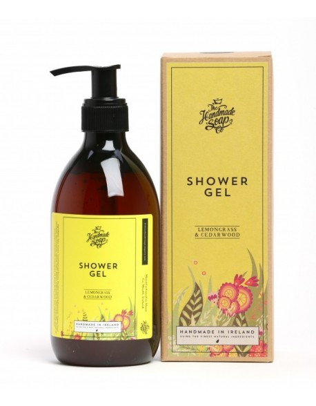 The Handmade Soap Co. Lemongrass & Cedarwood Shower Gel 300ml