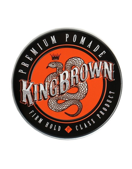 King Brown Premium Pomade Firm Hold
