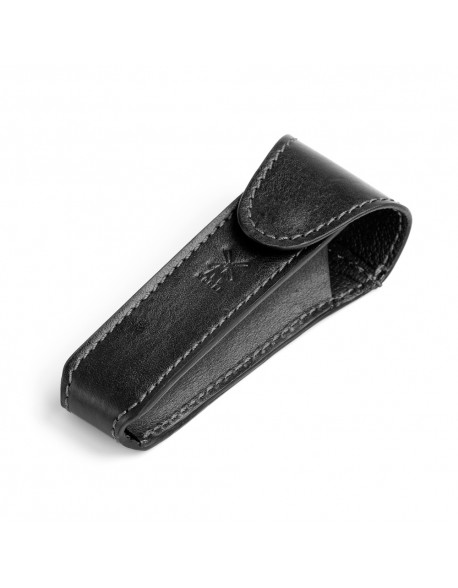 Mühle DE Safety Razor Travel Case Black Leather