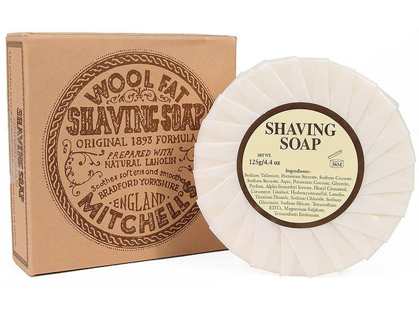 Mitchell's Wool Fat Shaving Soap 125 g