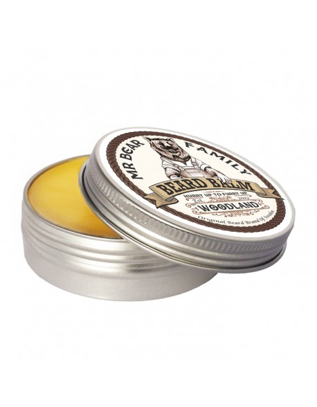 Mr Bear Family Woodland Beard Balm 60ml