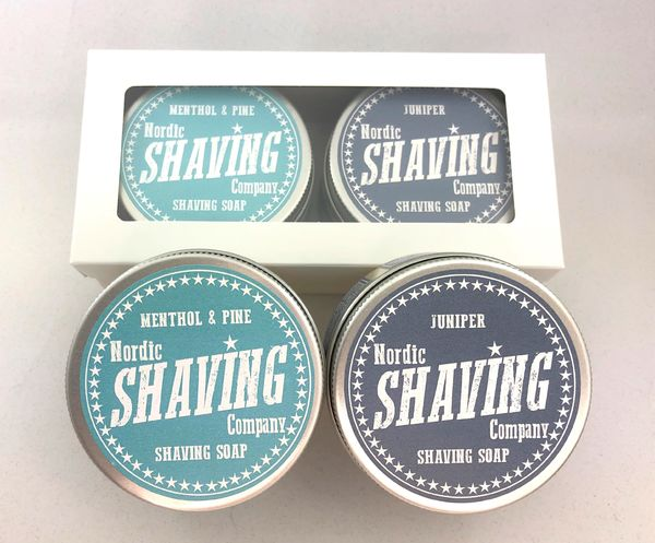NSC Shaving Soap 80 g twin pack Favourites