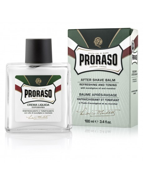 Proraso Green - After Shave Balm Eucalyptus and Menthol 100ml