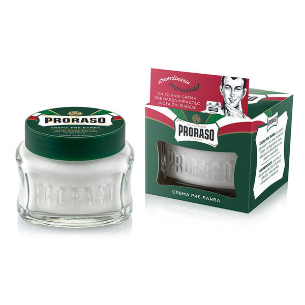 Proraso Green - Pre-Shave Cream Eucalyptus and Menthol 100ml