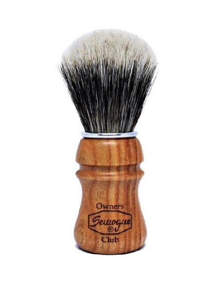 Semogue S.O.C. Badger&Boar Bristle Cherry Shaving Brush