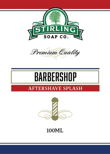 Stirling Barbershop Aftershave Splash 100 ml