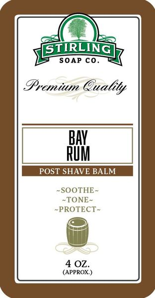 Stirling Bay Rum Aftershave Balm 118 ml