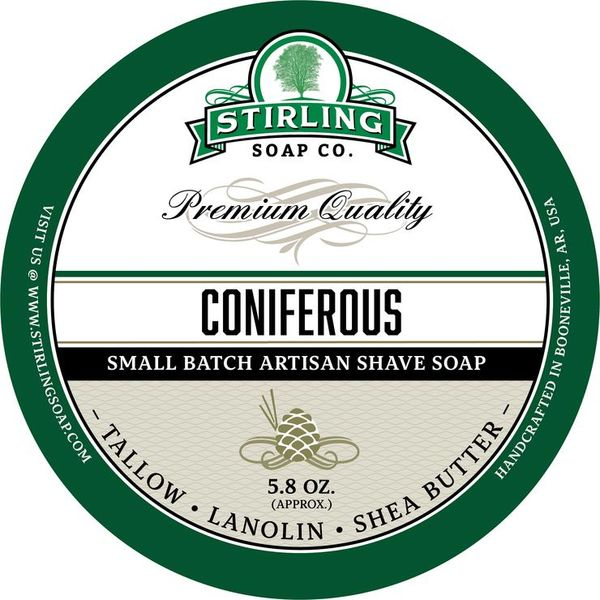 Stirling Coniferous Shaving Soap 170 ml