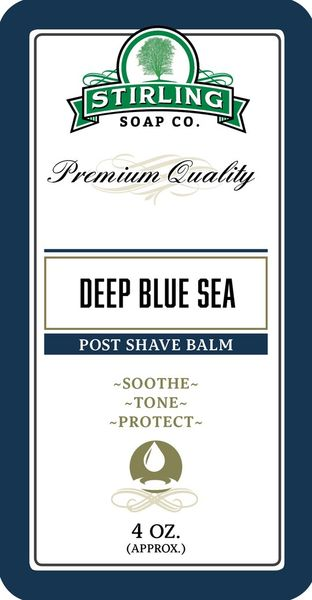 Stirling Deep Blue Sea Aftershave Balm 118 ml