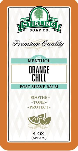 Stirling Orange Chill Aftershave Balm 118 ml