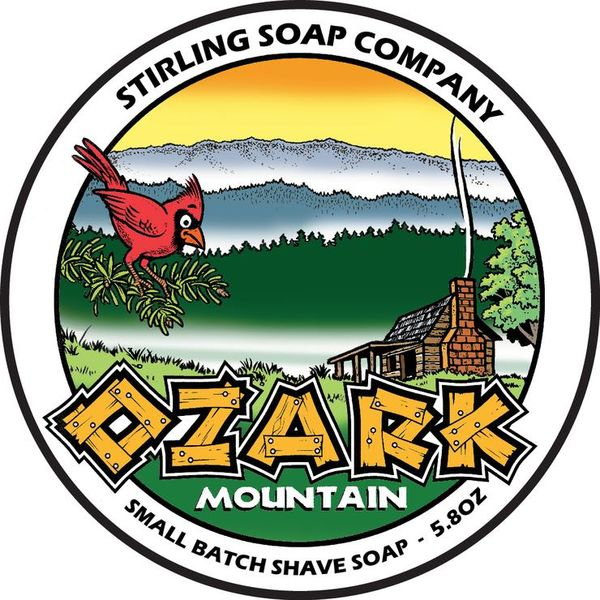 Stirling Ozark Mountain Shaving Soap 170 ml