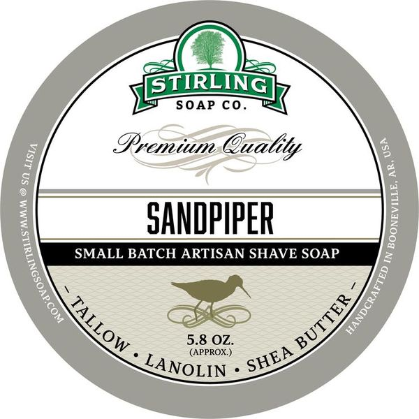 Stirling Sandpiper Shaving Soap 170 ml