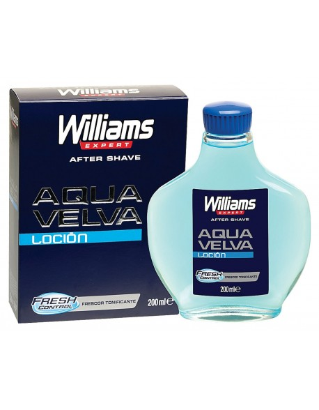 Williams Aqua Velva After Shave Lotion Splash 200ml
