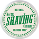 NSC Shaving Soap Natural Unscented 40 g